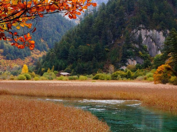 Beautiful Lake Jiuzhaigou Travel 2016 CHINA