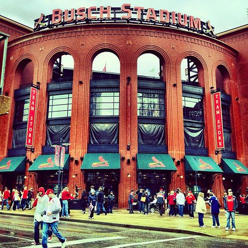Busch Stadium, my favorite place in the world <3
