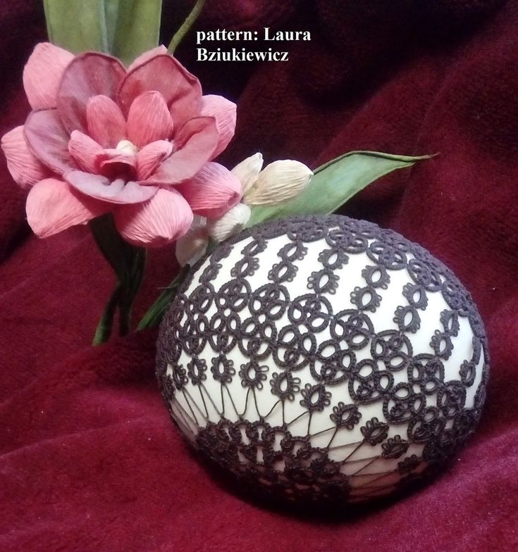 """Pattern for an easter egg dress - """"Gotfryd's Pants"""" for ostrich's eggshell– author Laura Bziukiewicz"""