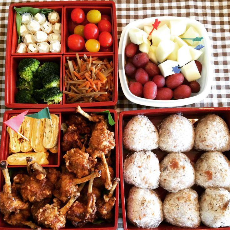 #bento #lunchbox #lunchforfamily #undokai
