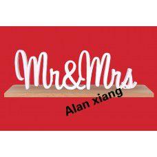 Г-н и г-жа свадьба знаки для милая таблица декора деревянные буквы, большой деревянный г-н и г-жа вход комплект