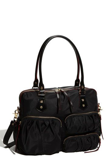 Diaper Bag: Nordstrom Handbags, Diapers Bags, Kate Nylons, Handbags Black, Mz Wallace, Wallace Kate, Nylons Bags, Nylons Handbags, Work Bags