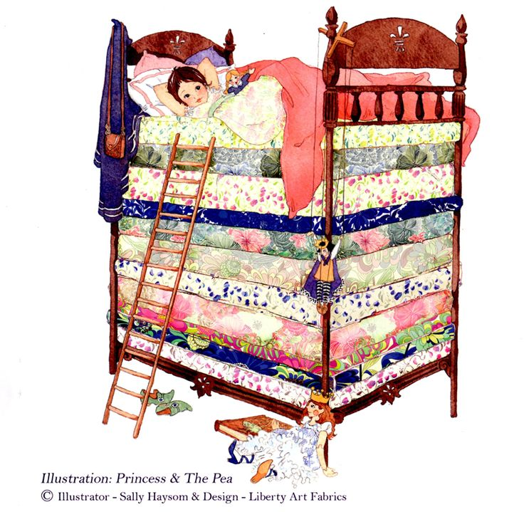 Tissu Liberty of London princesse
