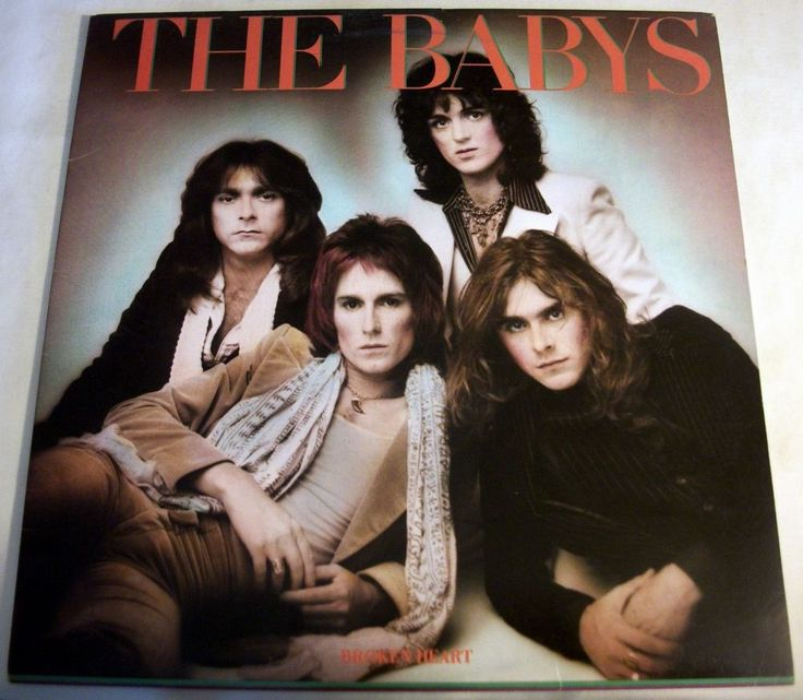 "The Babys ""Broken Heart"" 33RPM Vinyl LP 1977 Chrysalis CHR 1150 John Waite #RocknRoll"