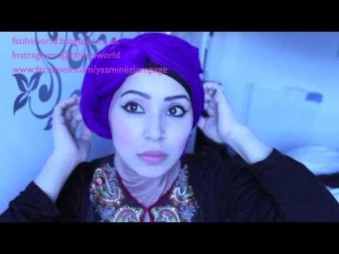 How to: 6 easy turban hijab styles by fatihasWORLD - YouTube