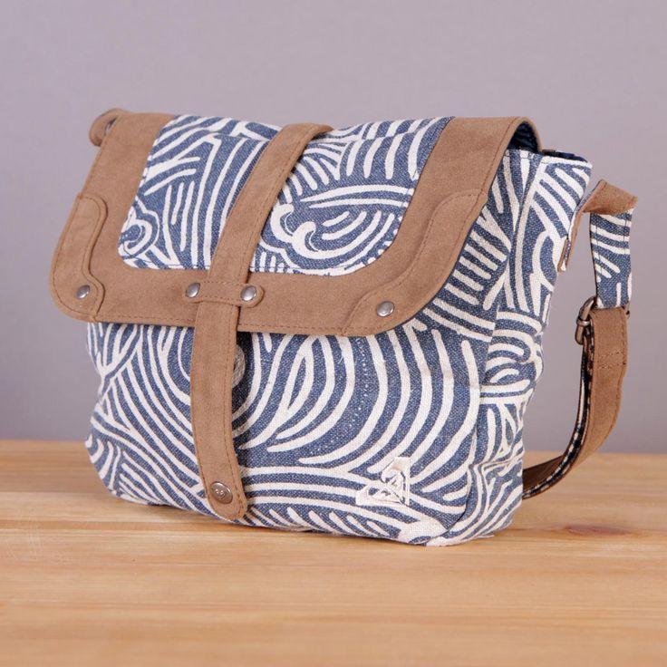 Damska torebka na ramię Roxy Mauimaui Japanese Wave / www.brandsplanet.pl / #roxy