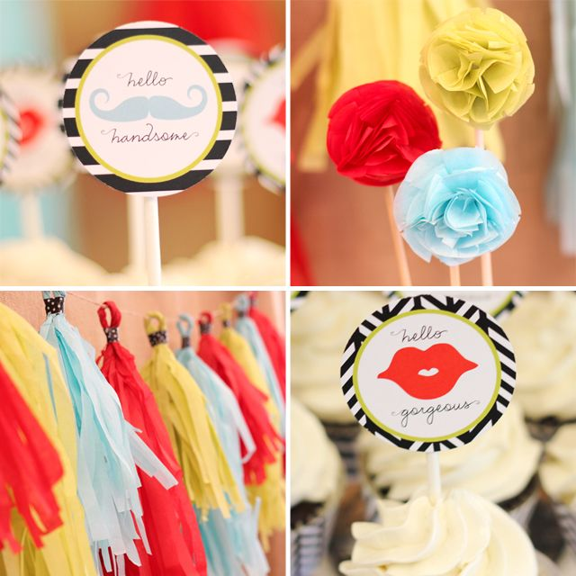 {Gender Reveal Party} :: Handsome Fella or Gorgeous Lil Lady?