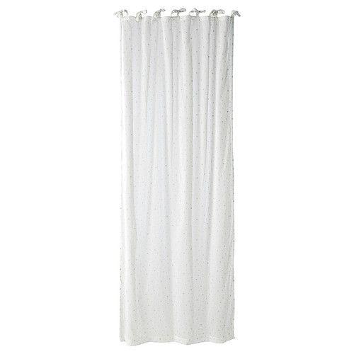 Rideau blanc Etoile
