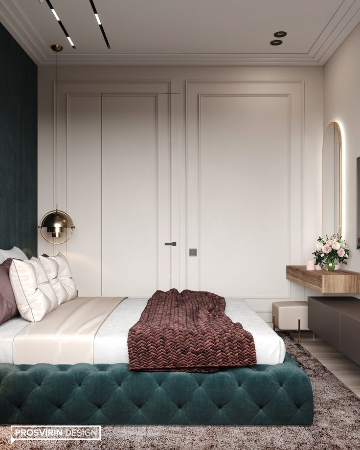 Bedroom In Contemporary Style On Behance: Luxurious Bedrooms, Modern