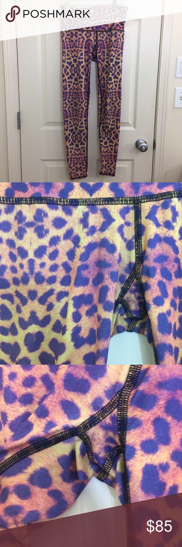 Teeki cheetah leggings Teeki cheetah leggings medium teeki Pants Leggings