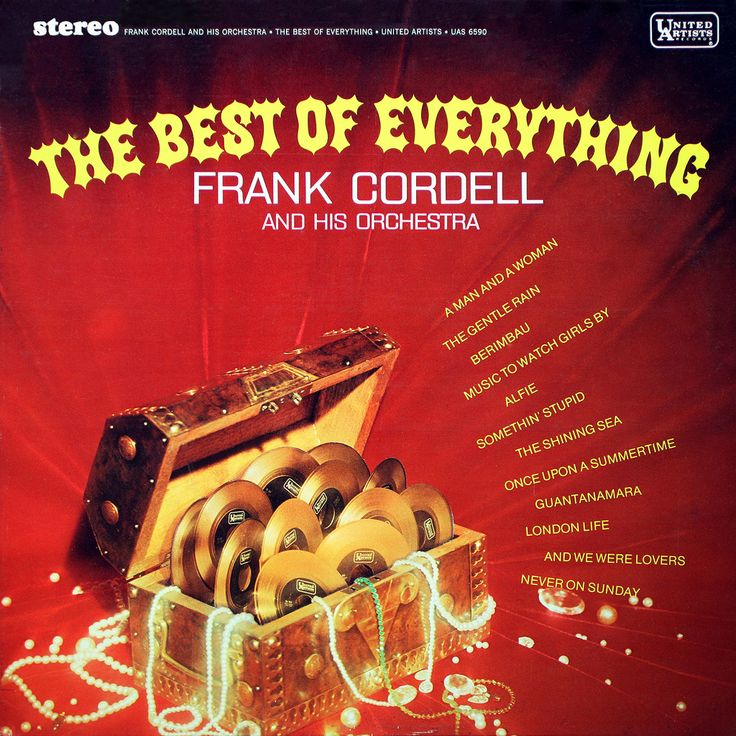 Guantanamera  Alfie  A Man and A Woman  The Gentle Rain  Music to Watch Girls By  The Shining Sea  Somethin' Stupid  Once Upon A Summerti...