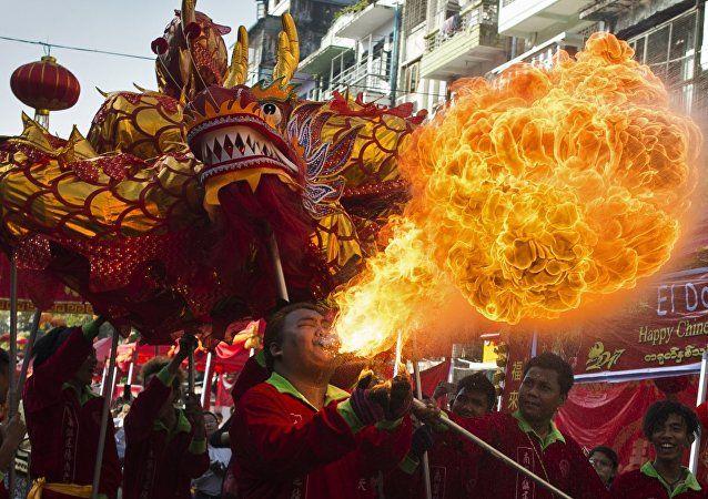 Chinesischer Drachen (Symbolbild)