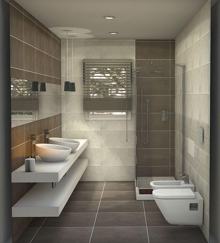 Oltre 25 fantastiche idee su bagni piccolissimi su - Progetto bagno piccolissimo ...