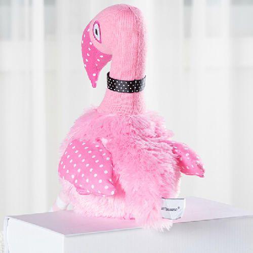 Kúpiť Pink Flamingo plyšové hračky pre deti úplne mäkké plyšové tkaniny Podrobnosti + Brezplačna dostava