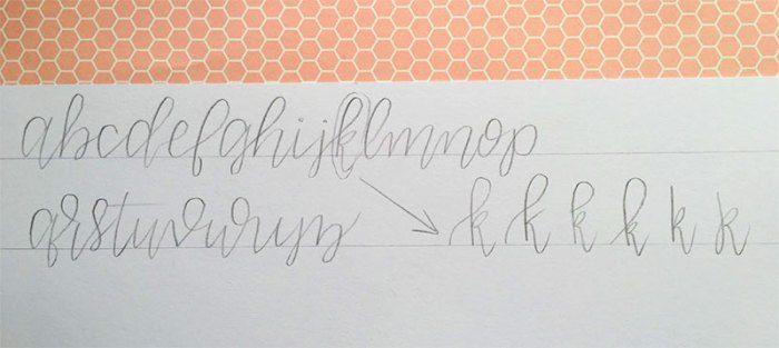 Oltre 1000 Idee Su Modern Calligraphy Tutorial Su