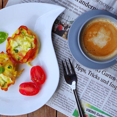 Frühstücksideen – Schinken-Ei-Muffins