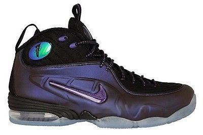 Nike Penny 1/2 Cent SZ 10 Eggplant Purple Black Foamposite QS 344646-500