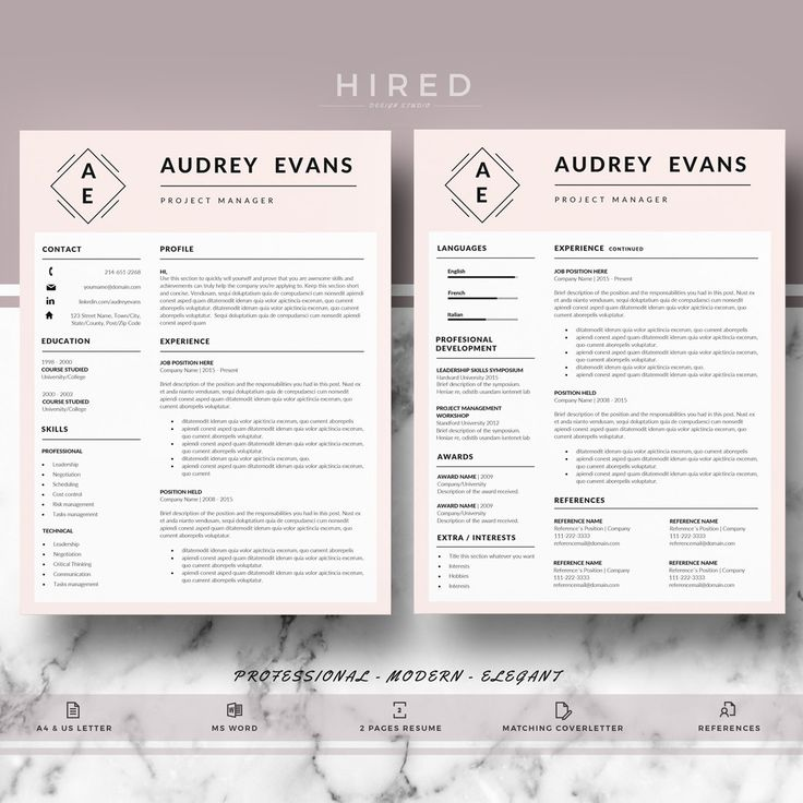 125 best Professional Resume Templates images on Pinterest - resume templates it professional