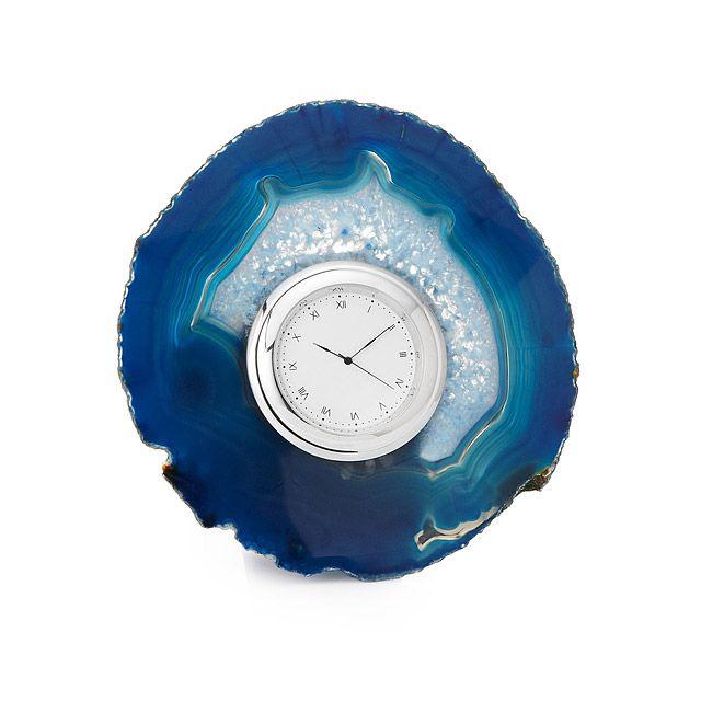 Agate Desk Clock