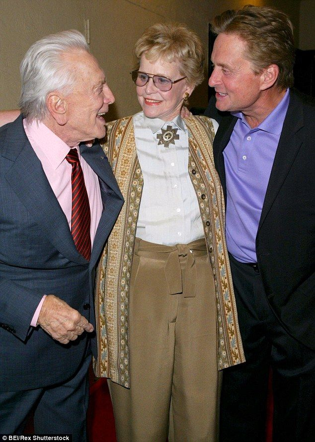 Michael Douglas' mother Diana dies at 92 after battle with ...