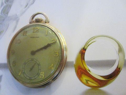 Hamilton Pocket Watch Wadsworth Case 17 J Three Position – Designer Unique Finds