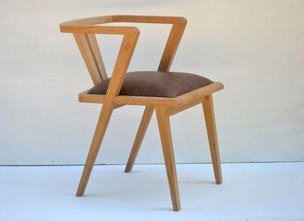 zen oak dining chair handmade to order at makers bespoke furniture http
