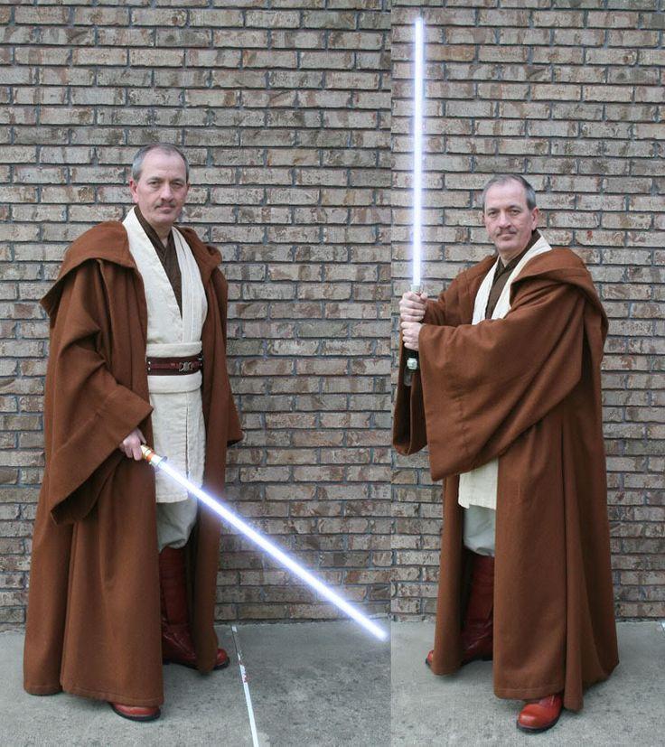Jedi Master's Robe tutorial