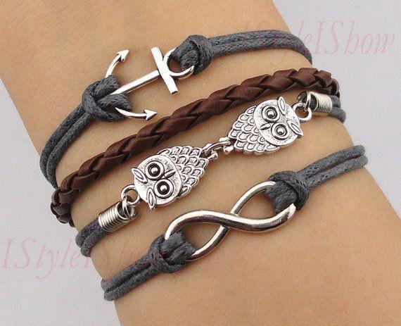 Infinity Bracelet by IStyleIShow