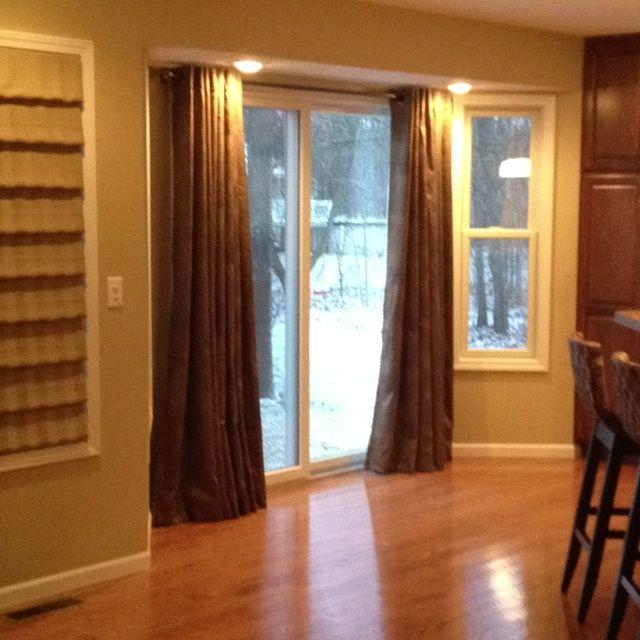 Kitchen Curtains Sliding Glass Door: 20 Best Sliding Glass Doors Images On Pinterest