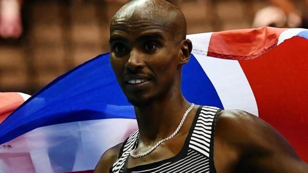 Mo Farah wins Diamond League 5,000m in Eugene, Oregon