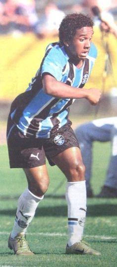 Anderson no Grêmio em 2005 jogando a Série B.