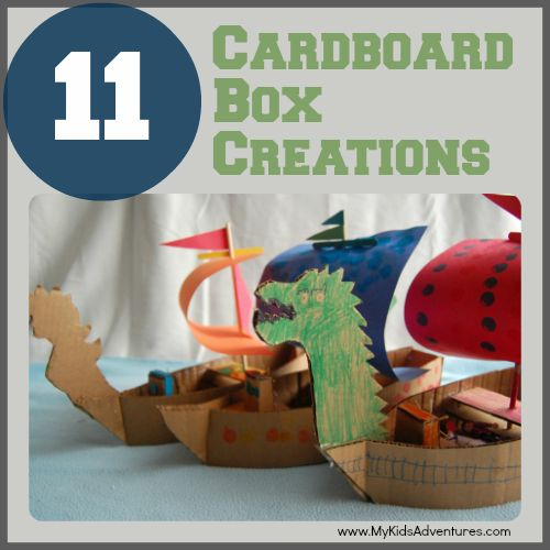 1000 ideas about cardboard box houses on pinterest for Things you can make out of a cardboard box