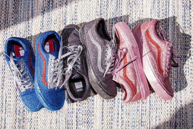 Vans Opening Ceremony Glitter Sneakers Launch