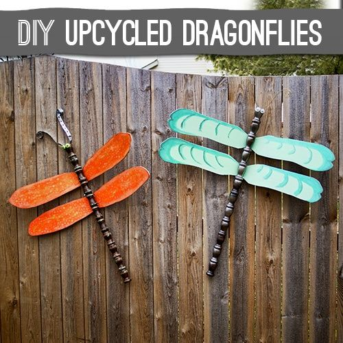 134 Best I Love That Junk Images On Pinterest: 42 Best Dragonflies, Made Out Of Ceiling Fan Blades Images