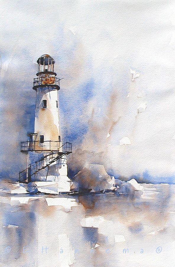 Watercolor Edo Hannema
