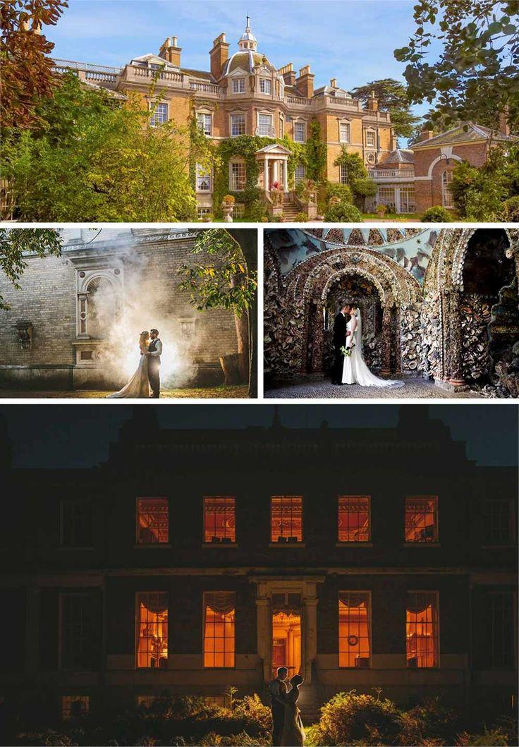 hampton court house autumn wedding venue