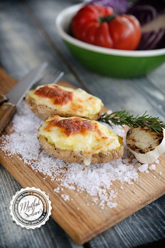 Tuzda Patates Tarifi - Mutfak Sırları