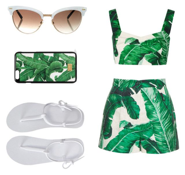 """""""🍍S U M M E R🍍"""" by polyvorefashionxox ❤ liked on Polyvore featuring Dolce&Gabbana, Aéropostale and Gucci"""