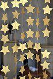 SUNBEAUTY 4 Meter fünfeckige Sternketten String Papier Girlande Party Feier Dekoration