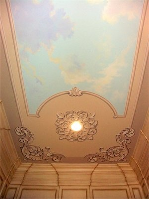 10 images about murals on the ceiling on pinterest for Blue moon mural