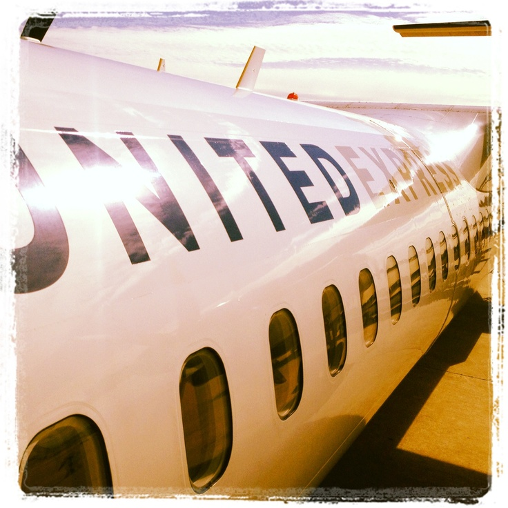 Boarding, Bush Intercontinental Airplane
