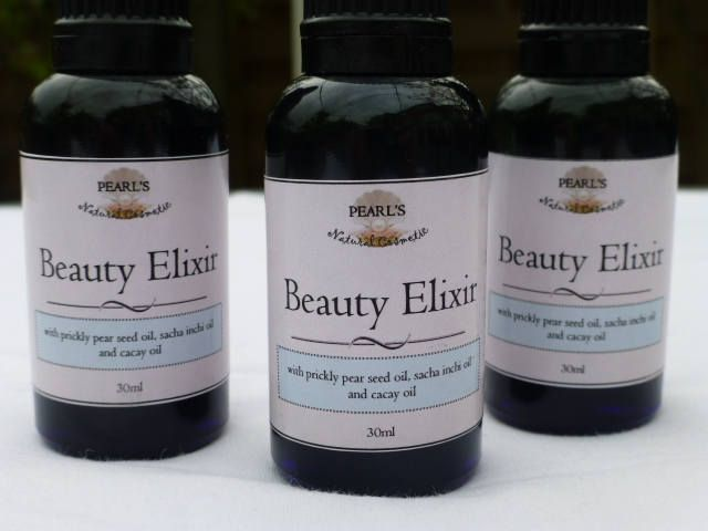 Beauty Elixir, Luxury Facial Oil with Prickly Pear Seed Oil, Sacha Inchi Oil, Cacay Oil, Neroli Oil, Frangipani absolute, 30g, UK by PearlsCosmetic on Etsy