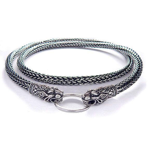 Martillo de Thors collar de Viking. Réplica Bredsatra. por RuyaN