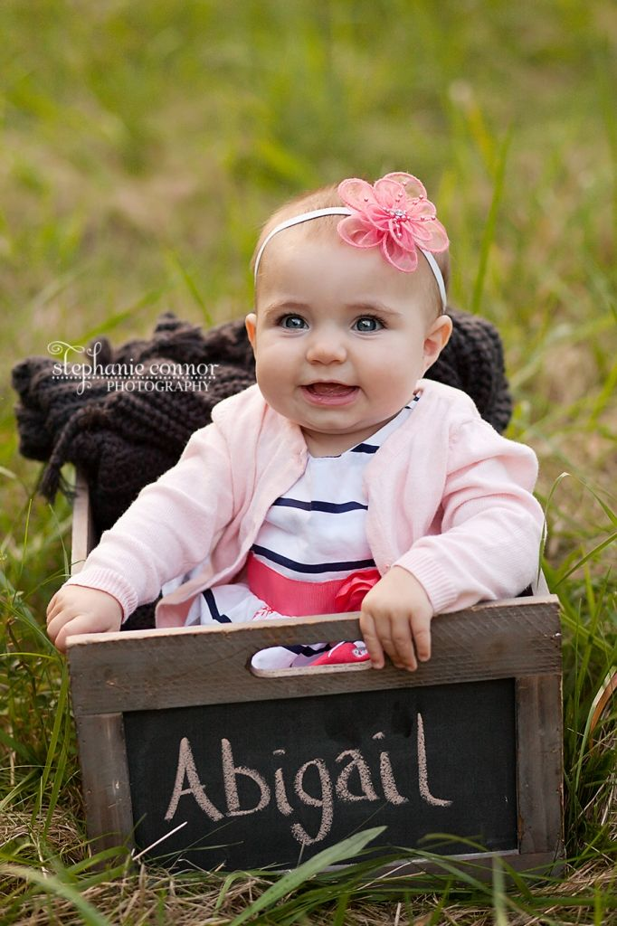 Stephanie connor photography six month baby