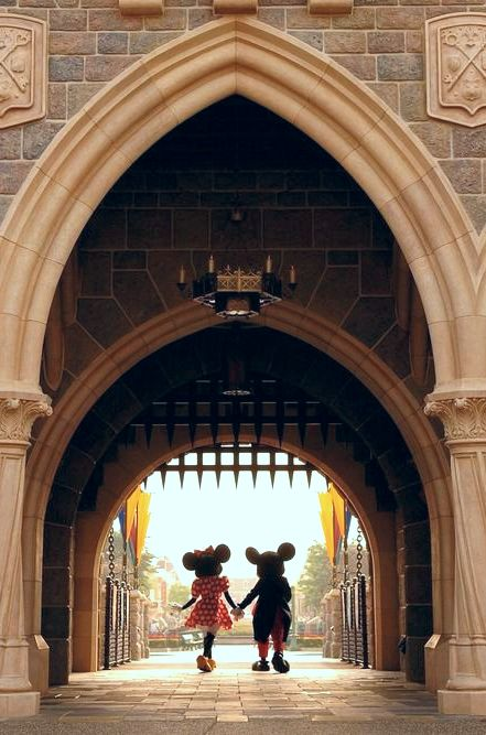 Mickey and Minnie at Disneyland #disney #mickeymouse #minniemouse