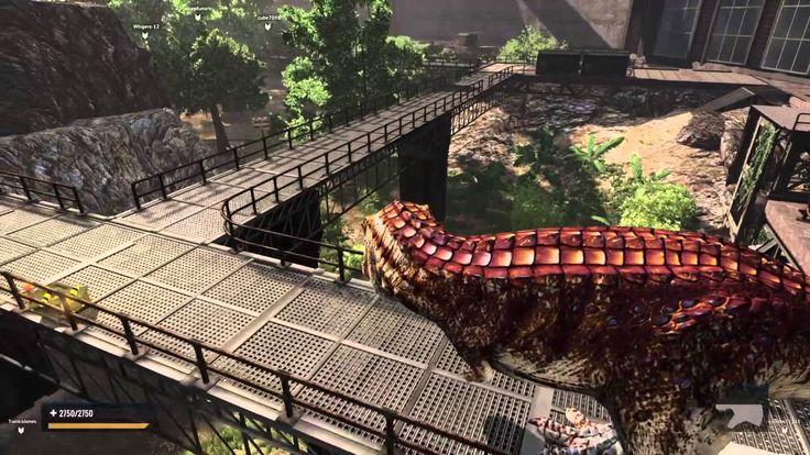 Primal Carnage: Extinction ps4 free roam