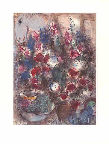 Marc Chagall - Großer Strauß