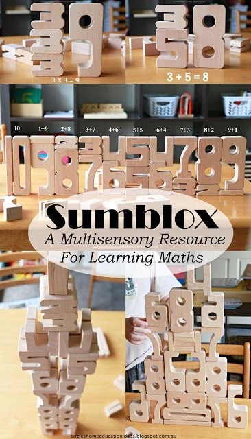 Sumblox - A Multisensory Resource for Learning Maths