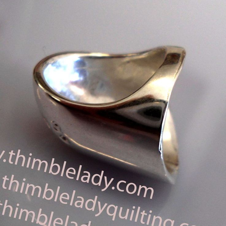 Silver Quilting/Sewing Thimble
