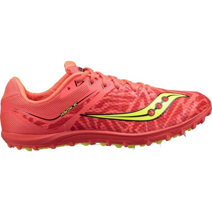 Saucony Women's Havok XC Flat Track and Field Shoes, Red